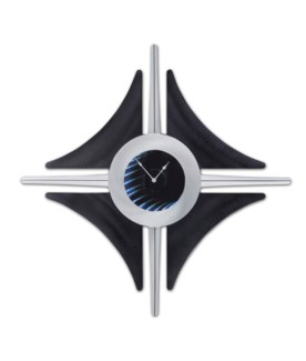 Clover Infinity Clock Gloss Black