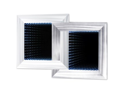 Interlinks Infinity Wall Mirror Silver
