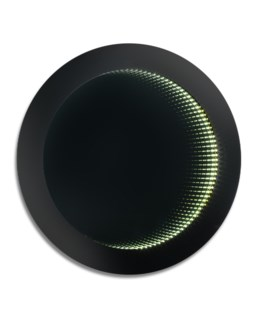 Magic LED Infinity Round Large Gloss Black