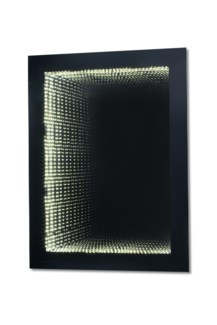 Intersections LED Infinity Rectangular Gloss Black