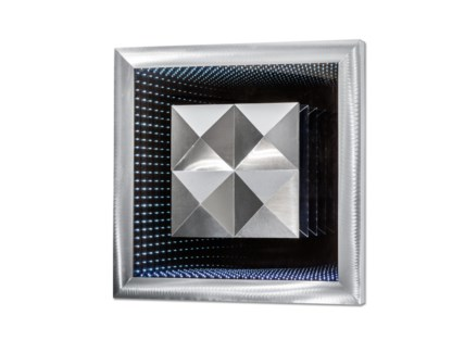 Prisms Infinity Square Silver
