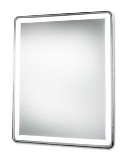 Pool Illuminated Mirror Rectangular Large Silver