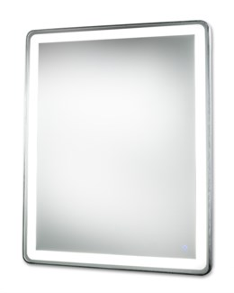Pool Illuminated Mirror Rectangular Large Silver