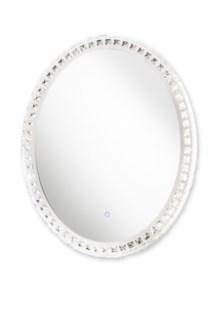 Marilyn Illuminated Mirror Oval Chrome