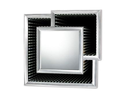 Interlock Infinity Mirror Silver