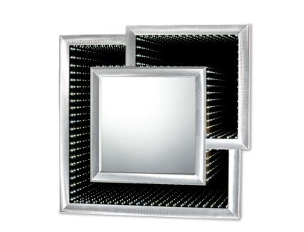 Interlock Infinity Mirror Silver