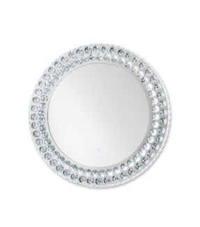 Windsor Illuminated Wall Mirror Round Chrome