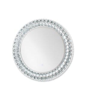 Windsor Illuminated Wall Mirror Round Chrome