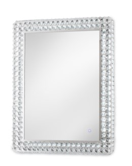 Windsor Illuminated Wall Mirror Rectangular Chrome