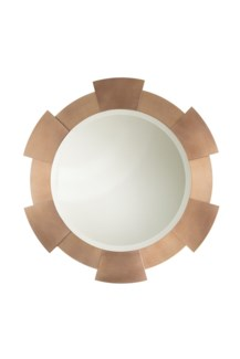 Port Hole Wall Mirror Dorado Gold