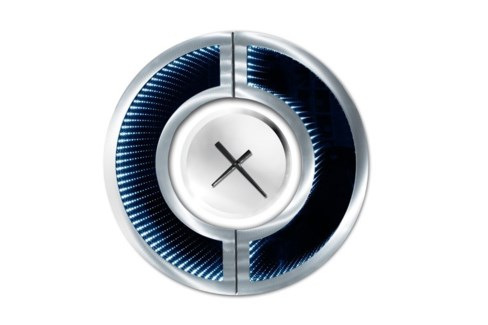 Omega Infinity Wall Clock Silver