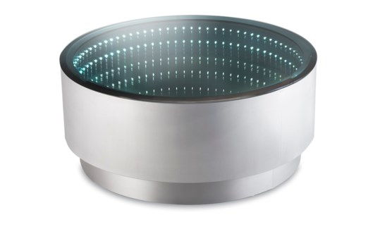 Havana Cocktail Table Round Silver