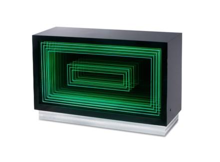 Vector Multi-Color Console Table Gloss Black