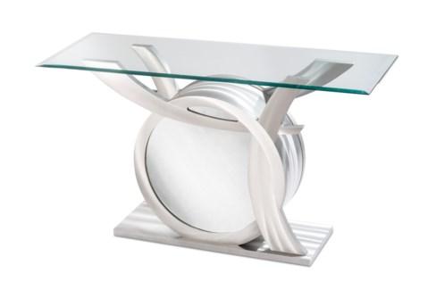 Sylvester Console Table Silver