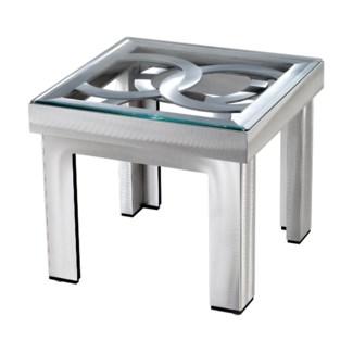 Silver Circles, End Table