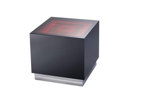 Vector Multi-Color End Table Gloss Black