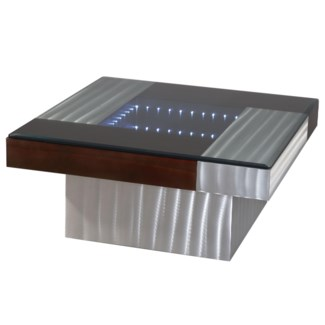 Square Infinity Cocktail Table