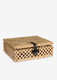 Decorative rattan Box - Natural