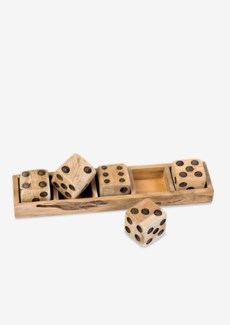 Decorative wooden Dice