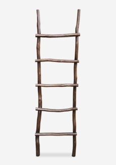 Antique decorative Ladder - Antique Brown