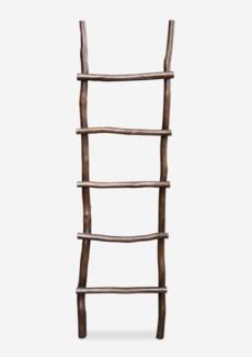 Antique decorative Ladder - Antique Brown