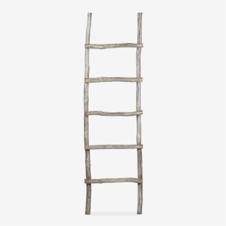 Antique decorative Ladder - Vintage Grey