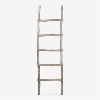Antique decorative Ladder - Vintage Grey