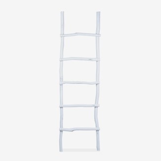 Antique decorative Ladder - Antique White
