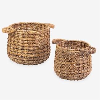 Zuzu Basket - set of 2 (16x16x18 / 12x12x15)