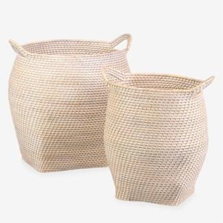 Sedona Basket - set of 2 ( 16.5x20x17.75 /  16.5x20x17.75)