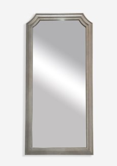 "78""x38"" Mirror with Carved Wood Frame (38.19X1X77.95)"