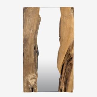 "39"" X 24"" Live Edge Rectangle Organic Mirror (39x1.5x24)Material/color: Wood Natural/ MirrorCBM: 0"