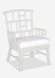 Paxton Occasional Chair - White Solid(26x23x37)