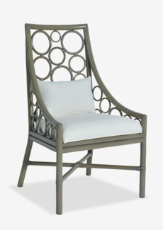 Roman Side Chair - Putty Grey Color(24x25x41.5)