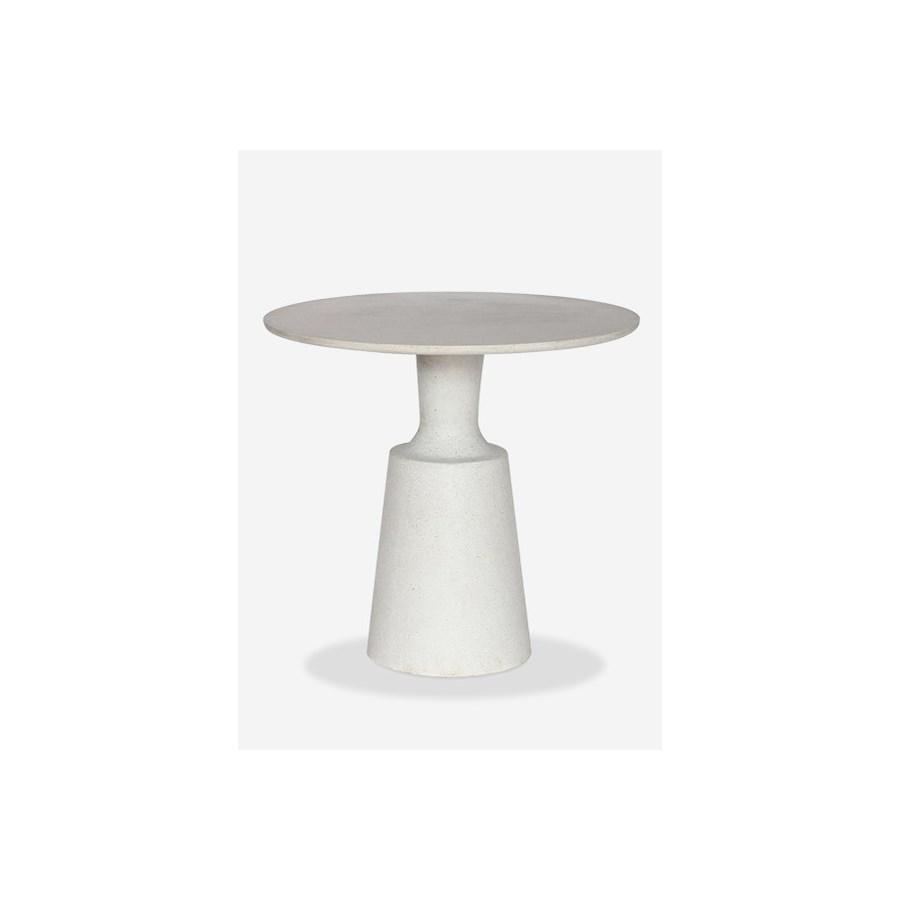 31 round outdoor dining bistro table reinforced fiberglass pendulum design31x31x29 ct 54100