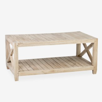 Promenade Slatted Coffee Table (41x23.6x18)