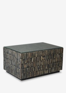 Desoto Cocktail Table with Reclaimed Teak Tiles (24x35.5x18)