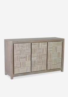 (SP) Colton Sideboard with 3 doors (60X18X35)..