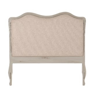 Sultan Hand Painted Upholstered Headboard (62.5x2x56)