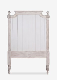 (SP) Orleans headboard-Twin (Ivory Color)