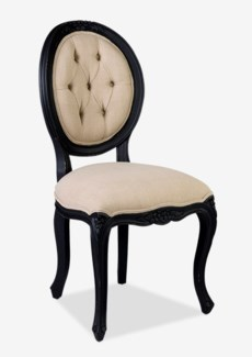 Janice Dining Chair - Vintage Black Frame(20X23X40)