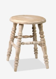 Promenade Antique Stool (13.75X13.75X18.5)