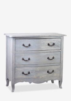Promenade Dresser with 3 Drawers-Grey Rustic (36.25X17X33.5)