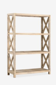 Promenade Open Vertical Bookcase (47x18x71)