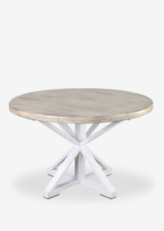 "Sonoma 48"" Two Tone Round Dining Table(48X48X30)"