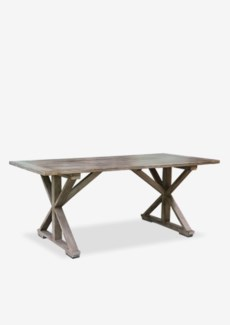 "Sonoma 72"" Cross Base Dining Table-Vintage Grey (72X36X30)"