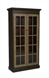 Pierre Glass Paned Cabinet (40x16x75)