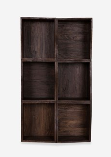Avery Custom-Stackable Cube Bookcase -- 6 Pcs Cube (16x18.5x14)