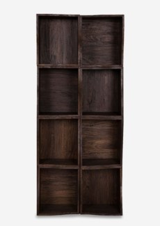 Avery Custom-Stackable Cube Bookcase -- 8 pcs Cube (16x18.5x14)
