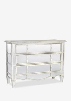 Toulouse Chest Of Drawers with Mirrored Facade (45x18x33)